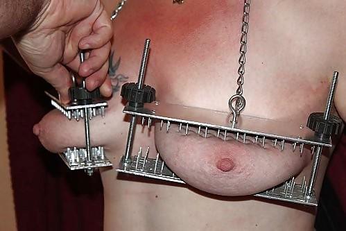 Bondage torture bra nails stories