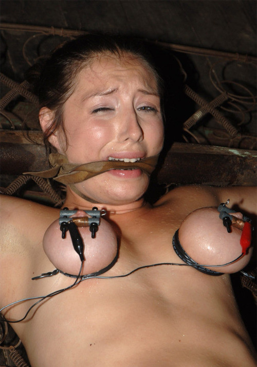 Breast torture porn she